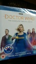 DOCTOR WHO - THE COMPLETE TWELFTH SERIES 12 [BLU-RAY] NEW & SEALED