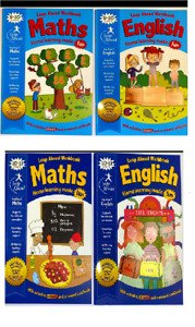 MATHS & ENGLISH Book ACTIVITY LEARNING BOOK LEAP AHEAD WORK BOOK KS2 Age 9-10