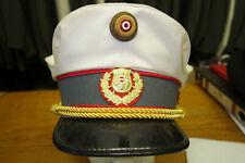 ME204: Schirmmütze Gendarmerie eingeteilter Beamter Größe 58 Verkehrsmütze