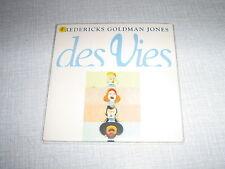 JEAN-JACQUES GOLDMAN CDS FRANCE DES VIES