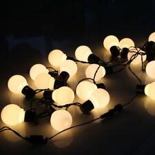 LED Globe Bulb Festoon String Lights Outdoor Waterproof Ball String Christmas