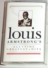 """CASSETTE TAPE of BLUES ARTIST / LOUIS ARMSTRONG """"ALL-TIME GREATEST HITS"""""""