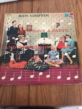 Vintage Let's Have A Party [And Everybody Sing] Record, Ken Griffin