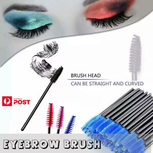 50-200 Disposable Mascara Wands Eyelash Brushes Applicator Lash Extension Brush