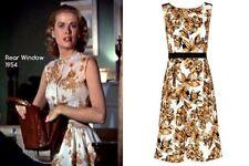 Jacques Vert Gold Bronze Black Pleated Shantung Dress Size 10 Bnwot Hols 11/9-18