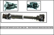 New Front Propshaft For Toyota 4 Runner and Hilux Surf LN130 - 2.4TD (1988-1993)