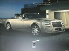 Rolls Royce Phantom Convertible Softback Sales Brochure