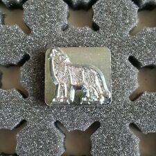 3D Craftool Leather Tool Stamp, Standing Wolf, Howling, 8475