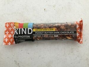 144 Kind Bars Peanut Butter Dark Chocolate protein nutrition energy