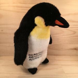 """MELBOURNE AQUARIUM """"Black"""" Gorgeous Penguin Soft Toy Stuffed Animal Friend"""
