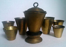 antique Romanian military army canteen cups burner field gear militaria set 1920