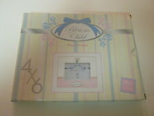 """*New Unused* Russ Baby Bless This Child Baby Baptism 4"""" x 6"""" Photo Frame"""
