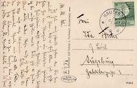 Ansichtskarte Hauzenberg Jahr 1938 verschickt nach Augsburg wertv. Frankatur