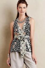NEW NWT Anthropologie Starflower Blouse by HD in Paris Size 0 $128 Wrap