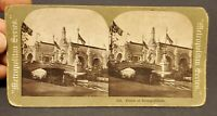 Stereoview Palace of Transportation St Louis Worlds Fair c1900s