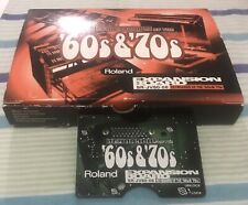 ROLAND SR-JV80-08 KEYBOARDS of the '60s & '70s Expansion Board Free Shipping