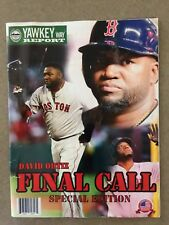 Yawkee Way Report David Ortiz Final Call Magazine 2016 Fenway Park RED SOX