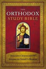 The Orthodox Study Bible, Hardcover: Ancient Christianity Speaks to Today's Wor