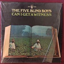 FIVE BLIND BOYS OF ALABAMA - Can I Get a Witness - 1969 Buddah LP - IN SHRINK