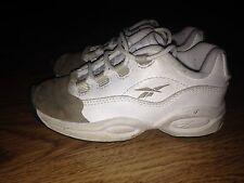 Reebok Question Allen Iverson Toddler Oatmeal Tip Shoes Size 8.5C