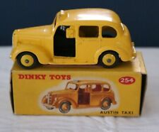 Vintage Dinky #254 Austin Taxi With Box