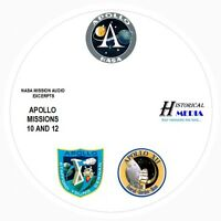 NASA SPACE AUDIO - Mission Audio From Apollo Missions 10 and 12 On 1 Audio CD