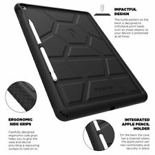 Poetic For iPad Pro 12.9 TurtleSkin Series Case With Portable Tablet Stand Black