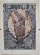 Illustrierte Zeitung Verlag J.J.Weber Leibzig 26.Oktober 1916 Kriegsnummer 117