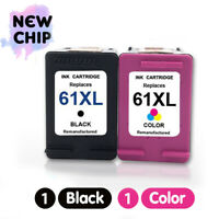 61 XL Black & Color Ink Cartridge For HP OfficeJet 2620 4630 4632 4634 4635