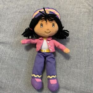 Strawberry Shortcake Ginger Snap 10 Inch Plush Doll Fun-4-All 2003