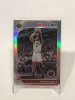 2019-20 Panini NBA Hoops Premium Stock Terence Davis Silver Lrizm Rookie RC