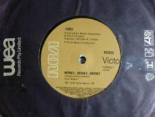 """ABBA """"Money Money Money/Crazy World """"Aus 7""""45rpm Vinyl"""
