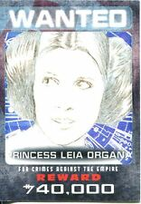 Star Wars ESB Black /& White Iconic Characters Chase Card IC-2 Prin Leia Organa