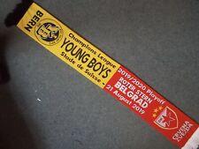 YOUNG BOYS BERN v RED STAR BELGRADE CRVENA ZVEZDA champions Lge Playoff 21.8.19