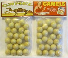 2 Bags Of Camel Cigarettes Promo Marbles