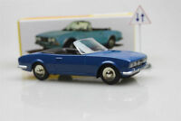 1423 Cabriolet 504 blue Dinky toys  Atlas  Peugeot Alloy car model Roadster 1:43