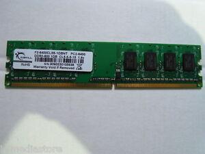 G.Skill 2 GB (2x1GB) F2-6400CL5s-1GBNT PC2-6400 FSB 800 MHz TOP