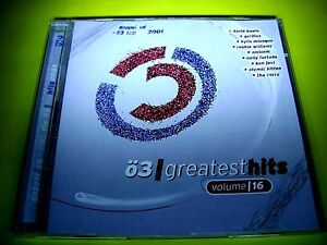 Ö3 GREATEST HITS 16 + BONUS CD TOP HITS 2001 DAFT PUNK TRAVIS EMINEM DIDO SYLVER