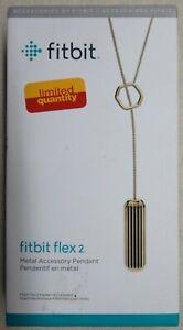 Fitbit Flex 2 Accessory Pendant Gold (FB161ALGD)
