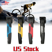 Mini Portable Bicycle Air Pump MTB Road Bike Cycling Pump Schrader Presta Valve