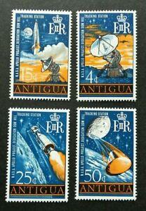 [SJ] Antigua Space New Tracking Station 1968 Apollo Astronomy (stamp) MNH