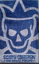 "SCOTTY CAMERON New 2020 Gallery Limited TOUR JESTER Players Towel ""NEW BLUE"""