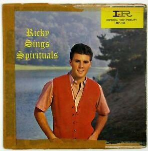 RICKY NELSON Ricky Sings Spirituals EP 1959 GOSPEL W VG++