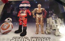 2016 Cincinnati Reds Star Wars Poster Brand New! SGA! R2D2, C3PO, Mr Redlegs!