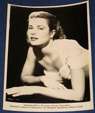 Grace Kelly 1955 PARAMOUNT 100% genuine & amazing Press Publicity photo U.S.A.