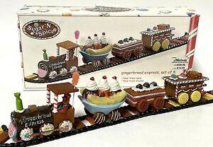 Lemax Gingerbread Express Train Sugar N Spice Christmas Village Accessory