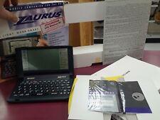 NEW Open Box Sharp Zaurus ZR-3000 PDA Organizer Handheld Computer W/ NEW Discs!