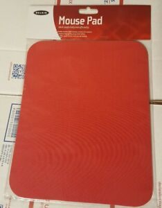 NEW Belkin F8E081-RED Standard Mouse Pad Red F8E081RED