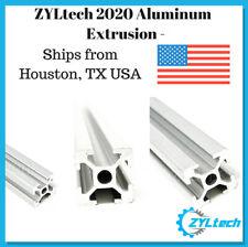 ZYLtech 2020 Aluminum T-Slot Aluminum Extrusion - 600mm CNC 3D Printer (Matte)