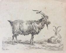 Deux chèvres Nicolaes Berchem 1620-1683 Amand Durand vers 1875 Chèvre